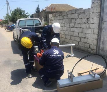 Abşeron və Sumqayıtda telefonlaşmayan ərazilərə internet çəkilir
