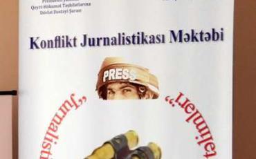 """""""Konflikt jurnalistikası məktəbi""""nin növbəti auditoriya təlimi"""