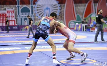 Azərbaycan güləşçiləri EYOF-da 4-cü qızıl medalı qazandı