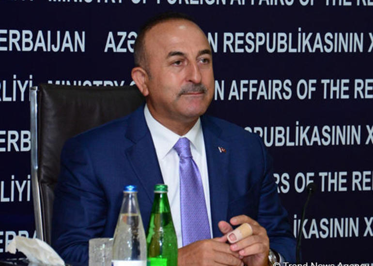 "Çavuşoğlu: Bakı-Tbilisi-Qars Asiya üçün ""Avropaya pəncərə""dir"
