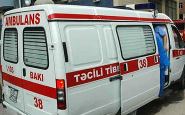 Mərdəkan körpüsündən avtomobil aşıb - 3 nəfər xəsarət alıb