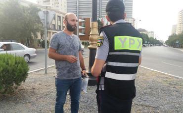 Bakı küçələrində piyadaları cərimələyən post-patrul əməkdaşlarının səlahiyyətlərinə xitam verilib