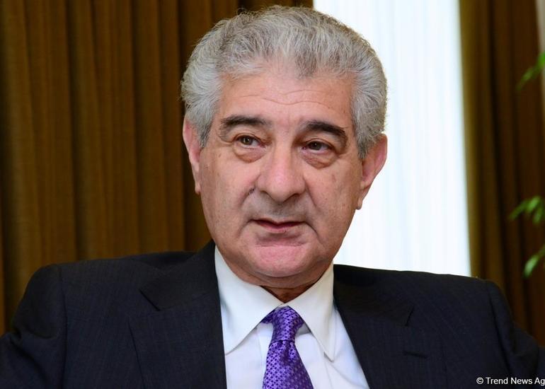 Əli Əhmədov: Ölkəmizin inkişafı fonunda Azərbaycana qarşı bir sıra dairələr kampaniyalar aparır