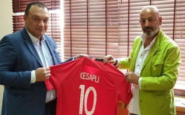 Dündar Keşaplı Türkiyə Futbol Federasiyasını ziyarət edib