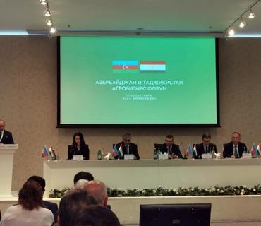 Bakıda Azərbaycan-Tacikistan Aqrobiznes Forumu keçirilir