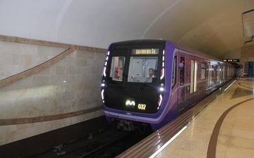 Bakı metrosu bu gün saat 22.00-dan bağlanacaq