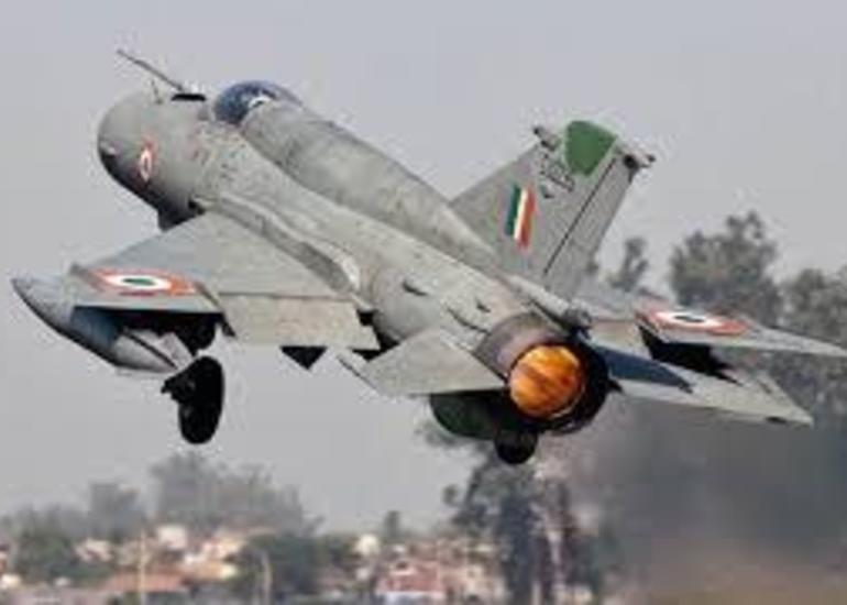 Hindistanda MiQ-21 qırıcısı qəzaya uğradı