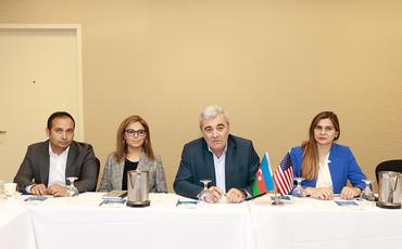 Boston azərbaycanlıları ilə görüş keçirilib