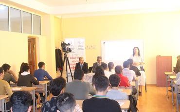 Azərbaycan Kooperasiya Universitetində icbari tibbi sığorta ilə bağlı təlim keçirilib