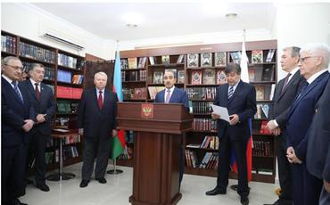 Bakıda Rus Kitab Evinin açılmasının 10 illik yubileyi qeyd olunub