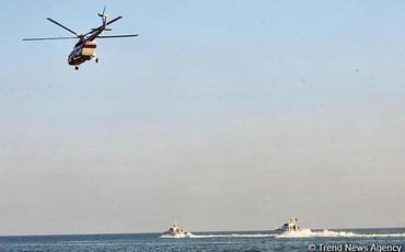 Xəzərdə itən balıqçının axtarışlarına helikopter cəlb olunub