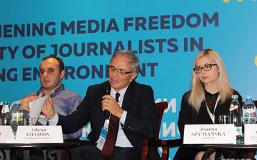 MŞ sədri KİV azadlığı və jurnalist təhlükəsizliyi ilə bağlı XVI Cənubi Qafqaz media konfransında iştirak edib