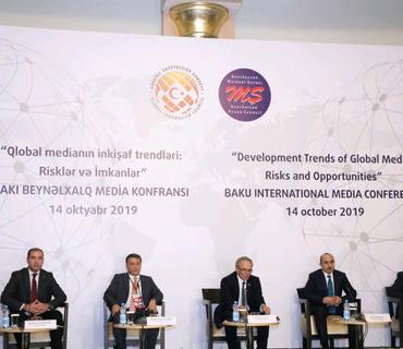 """""""Qlobal medianın inkişaf trendləri: Risklər və imkanlar"""" Bakı beynəlxalq media konfransı keçirilir"""