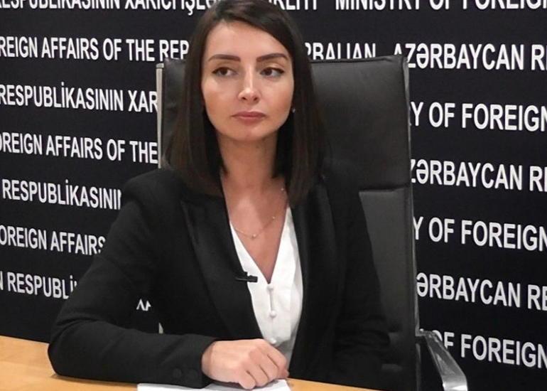 Leyla Abdullayeva: Paşinyan anlamalıdır ki, Qarabağ münaqişəsinin KTMT-yə heç bir aidiyyəti yoxdur