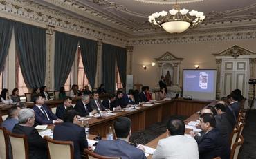 Diasporla İş üzrə Dövlət Komitəsində kollegiya iclası keçirilib