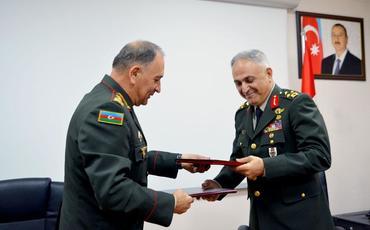 Azərbaycan Müdafiə Nazirliyi ilə Türkiyə Baş Qərargahı arasında protokol imzalanıb