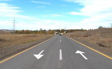 Ağstafa-Yenigün-Xətai-Qaçaq Kərəm-Poylu-Xılxına avtomobil yolu yenidən qurulub