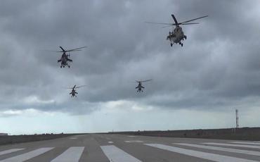 Azərbaycan Hərbi Hava Qüvvələri qarşıya qoyulan tapşırıqları icra edir