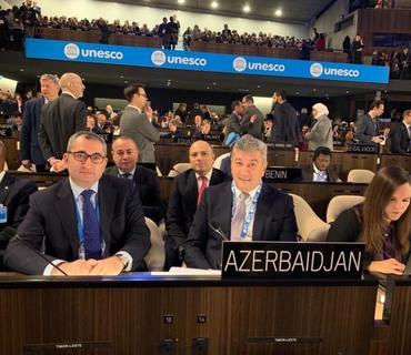 Azərbaycan UNESKO-nun Baş Konfransının 40-cı sessiyasının vitse-prezidenti seçilib