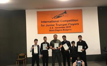 Azərbaycanlı gənclər Bolqarıstanda keçirilən beynəlxalq müsabiqədə mükafatlara layiq görülüblər