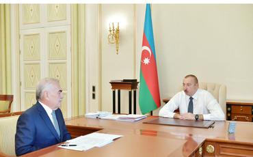 Azərbaycan Prezidenti: Naxçıvan ordusu ən müasir silahlarla təchiz edilib, texnikanın alınması təşkil olunub və bu proses davam etdirilir
