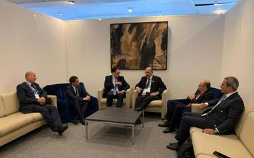 Əbülfəs Qarayev Parisdə rəsmi görüşlər keçirib
