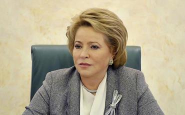 Valentina Matviyenko: Qarabağ münaqişəsinin tərəfləri təmkin nümayiş etdirməlidir