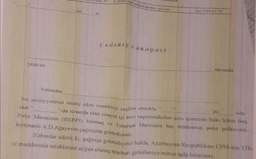"""""""Müsavat bazarı""""nda saxta mühacir sənədlərinin ŞOK QİYMƏTLƏRİ açıqlandı"""