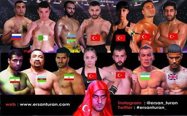 Türkiyədə peşəkarlar arasında beynəlxalq kikboksinq turniri