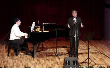Azərbaycan bəstəkarlarının mahnı və romanslarından ibarət konsert keçirilib