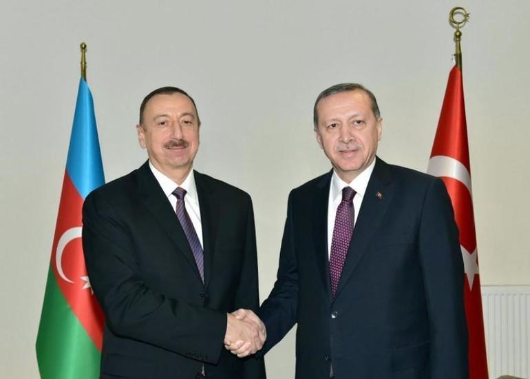 Türkiyə Prezidenti Rəcəb Tayyib Ərdoğan Prezident İlham Əliyevə telefonla zəng edib