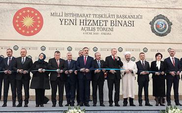 Əli Nağıyev və Orxan Sultanov Türkiyə MİT-in yeni binasının açılışında iştirak ediblər