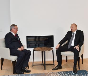 Azərbaycan Prezidenti İlham Əliyevin İsveçrəyə işgüzar səfəri