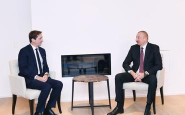 "Prezident İlham Əliyev ""SUEZ Group""un yeni baş icraçı direktoru Bertran Kamusla görüşüb"