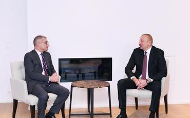 """Azərbaycan Prezidenti """"Procter and Gamble Europe"""" şirkətinin prezidenti ilə görüşüb"""