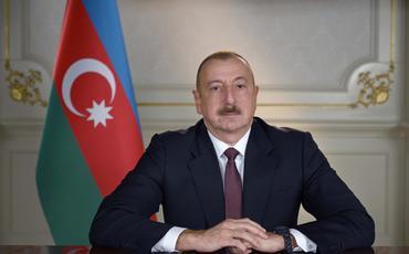 Prezident İlham Əliyev Nursultan Nazarbayevi təbrik edib