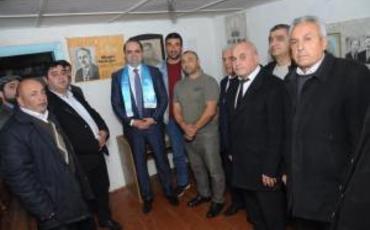 Rəşad Mahmuov Sovet İttifaqı Qəhrəmanının ev muzeyini ziyarət etdi