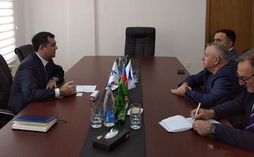 BAXCP sədri Rusiya MSK-nın üzvü ilə görüşüb