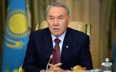 Nursultan Nazarbayev Prezident İlham Əliyevi təbrik edib