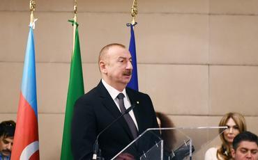 Romada Azərbaycan-İtaliya biznes forumu keçirilib