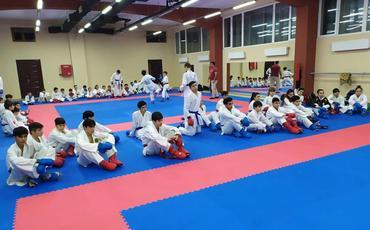 """Arpaçay Karate Klubu XI Beynəlxalq """"Baku Open"""" turnirinə hazırlıq üzrə təlim-məşq toplantısı keçirib"""