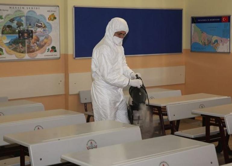 Bakıda 160 məktəbdə koronavirusa qarşı dezinfeksiya işləri aparılıb