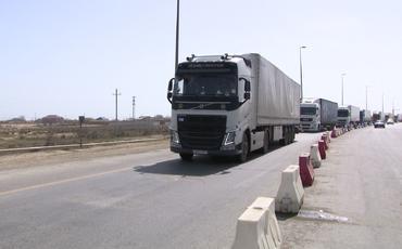 DİN: Xüsusi karantin rejiminə baxmayaraq, Azərbaycana daxil olan tranzit yük maşınlarının hərəkəti təmin edilir