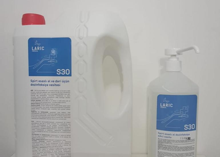 KOBİA əl dezinfeksiya edici vasitə istehsalına dəstək göstərib