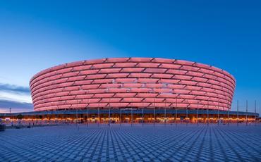 Bakı Olimpiya Stadionu koronavirus əleyhinə aksiyaya qoşuldu