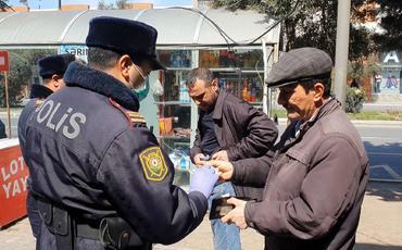 Sumqayıtda xüsusi karantin rejimini pozduğu üçün 100-ə yaxın şəxs cərimələnib
