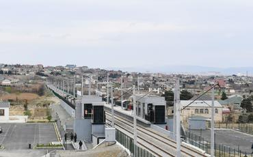 Abşeron dairəvi dəmir yolu xətti üzrə qatarların qrafikində dəyişiklik edilib