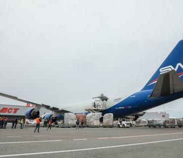 Çinin Cek Ma və Alibaba fondları COVID–19 ilə mübarizə üçün Azərbaycana tibbi humanitar yardım göndərib