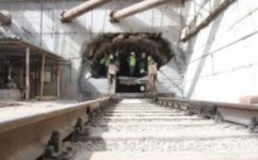 """Metronun """"Xocəsən"""" deposuna gedən tunellərin qazıntısı başa çatdı"""