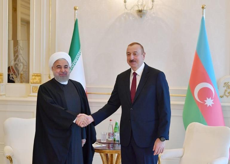 İran İslam Respublikasının Prezidenti Həsən Ruhani Azərbaycan Prezidenti İlham Əliyevə telefonla zəng edib